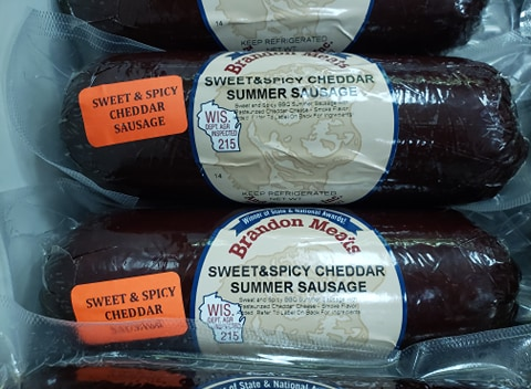 Sweet & Spicy Cheddar Summer Sausage